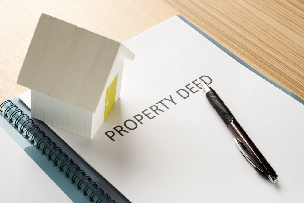 Property deed
